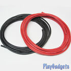 8AWG Silicone Wire Red Black Super Flexible Cable 1m 2m 5m Lengths