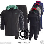 Nike Mens Tracksuit Full Zip Hooded Joggers Black Charcoal Navy Grey Royal521556