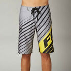 Fox Racing Men's Decadence Boardshort Grey Black & Yellow Sz 30-38 Available NWT