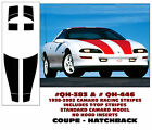 QH-383 QH-446 1998-02 CAMARO STANDARD MODEL-  RACING STRIPE with T-TOP - COUPE