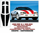QH-383 QH-444 1998-02 CAMARO STANDARD MODEL-  RACING STRIPE with ROOF - COUPE