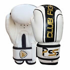 KIDS MACHINE MOULDED FOAM BOXING GLOVES FIGHT PUNCH WHITE REX LEATHER BAG MMA
