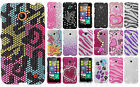 For Nokia Lumia 635 Crystal Diamond BLING Hard Case Snap On Phone Cover