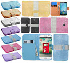 T-Mobile LG Optimus L90 Premium Bling Diamond Wallet Case Flip Pouch Phone Cover