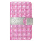 For Nokia Lumia 635 Premium Bling Diamond Wallet Case Flip Pouch Phone Cover