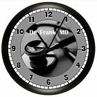 DOCTOR WALL CLOCK PERSONALIZED GIFT PEDIATRICIAN NURSE OFFICE MEDICAL