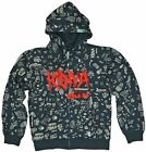 Kona Mens Full Zip Hoody Jumper