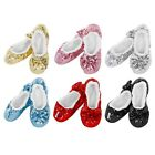SNOOZIES Ladies Bling Ballerina Slippers. Girlie Cozy,Warm Non-Slip and Washable