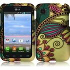 Hard Case Protective Snap-On Plastic Cover Skin For LG Optimus Dynamic 2 L39c