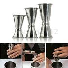 Double Jigger Short Drink Spirit Measure Cup Cocktail Bar Party Wine S/M/L