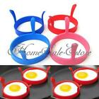 Silicone Kitchen Fried Fry Frier Oven Poacher Egg Poach Pancake Ring Mould Tool