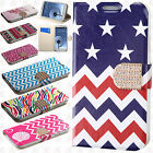 For Samsung Galaxy S3 S III Leather Wallet Pouch Flip Cover + Screen Protector