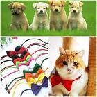 1/10pcs Dog Cat Pet Puppy Toy Kid 10 Colors Cute Bow Tie Necktie Collar Clothes