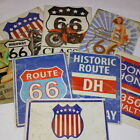 Vintage Style Retro Metal Sign American Road Signs Highway Route 66 historic