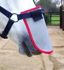 EQUILIBRIUM MUZZLE PROTECTOR SMALL GREY/RED BINDING