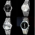 New Fashion Men Watche Dail Stainless Steel Sport Wrist Watch Quartz Wristwatch