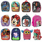 Kids Disney & Children Character  School Bag Backpack Ruksack Brand New Gift