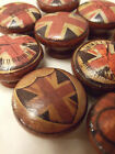 SUPER UNION JACK VINTAGE STYLE SHABBY CHIC KNOBS FOR CHESTS, CUPBOARDS AND MORE!