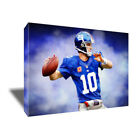 New York Giants ELI MANNING photo poster CANVAS ART Painting