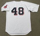 SAM McDOWELL Cleveland Indians 1970 Majestic Cooperstown Home Baseball Jersey