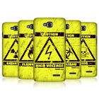HEAD CASE DESIGNS HAZARD SYMBOLS CASE COVER FOR LG L90 D405