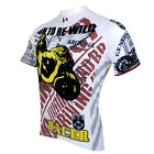 New Mens Short Sleeve Bike Wear Rider Cycling Jersey Bicycle Clothing Motor