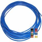 BLUE (+ 11 TRACERS) - 16.5A THINWALL 1mm2 Automotive Cable/Wire – per 5 metres