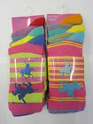 Ladies Striped & Polo Design Ankle Socks One Size (UK 4-8) 3 Pairs Style 41B263