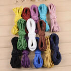 10/100yd 2mm Leather Cord Suede Lace Velvet Thread Bracelet Necklace Finding DIY