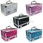 GTI - Large Aluminum Beauty Box Cosmetic Make Up Jewellery Saloon Case
