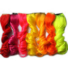 Popular Women Sexy Synthetic Dyed Hippie Hair Extension Clip in on WB031