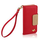 PU Leather Women Handbag Card Wallet Phone Case for Samsung Galaxy S4 Note 3