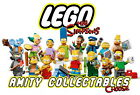THE SIMPSONS LEGO MINIFIGURES Mini Figures [CHOOSE A FIGURE FROM THE LIST]