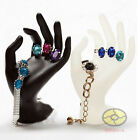 OK Hand For Ring Desk Table Jewelry Watch Organizer Display Stand Showcase