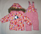 Baby Girls size 12M 18M Hooded Winter Snowsuit Snow Pants Jacket Coat  SNOZU $75
