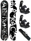 TOP!AIRTRACKS SNOWBOARD SET:BOOM LADY+BINDUNG RAGE FASTEC 360+SB BAG+PAD!NEU!