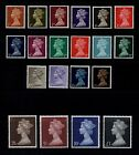 1967 Pre decimal Machin stamps. Sg723-744. Various options ( Multiple Listing )