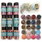 large multi sized flake decorative glitter/disc mixes - Dance Costume