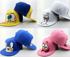 Unisex Spongebob Patrick Star Cartoon Hip Hop Hats Snapback Baseball Caps