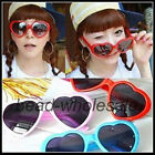 Fashion Unisex Heart Shape Sunglasses Glasses Frame for Party/Holiday