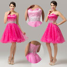 Strapless Short Prom Party Dress Evening Homecoming Dresses Cocktail Formal Gown