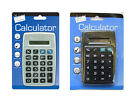 Pocket Size 8 Digit Calculator Silver/Black Desk Top 6178 Tallon