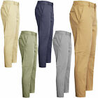 MENS CHINO JEANS PANTS SKINNY STRAIGHT LEG REGULAR FIT CASUAL TROUSERS BOTTOMS