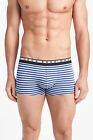 Boss Hugo boss men Blue stripe cotton stretch Trunk Boxer shorts underwear Large
