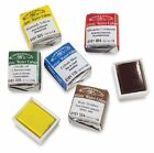 WINSOR AND NEWTON ARTISTS WATERCOLOUR HALF PANS -Series 1 & 2 - 55 Colours