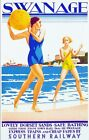 Vintage Southern Railways Swanage Railway Poster A3/A2/A1 Print