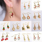 Xmas Christmas Personalized Charm Jewelry Earrings Hook Gift DIY New Collar Cute