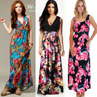 New Womens Ladies Summer Party Skirt Vest Casual Maxi Long Dress Size 6-20 NWT