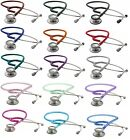 Adult Stethoscope Dual Head Clinician ADC NEW 15 Colors