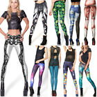 2014 Hot Sexy Multicolored Galaxy Printed Tights Jeans Leggings Pants S/M/L/XL